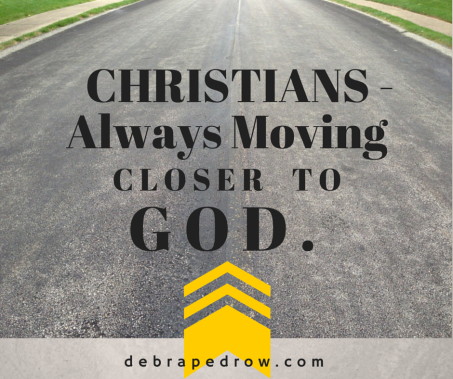 Christians moving closer to God
