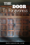 The door to forgiveness.
