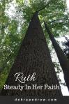 Ruth steady in her faith