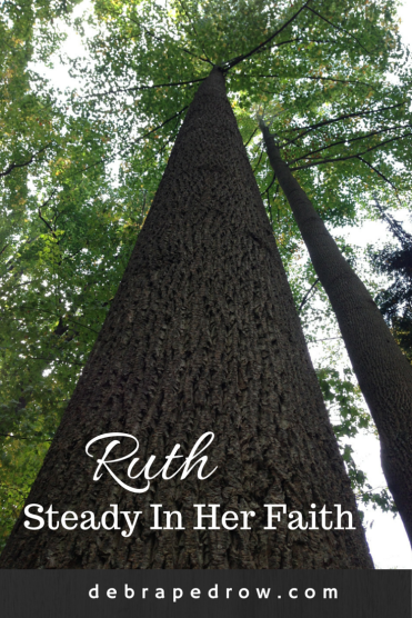 Ruth steady in her faith