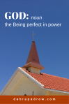 GOD - Being perfect in power