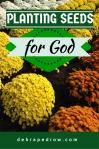 Planting seeds for God