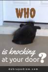 Who is knocking at your door?