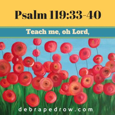 Psalm 119:33-40