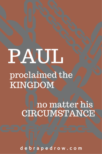 Paul proclaimed the Kingdom