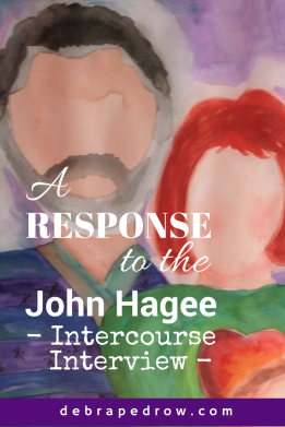 John Hagee Intercourse Interview