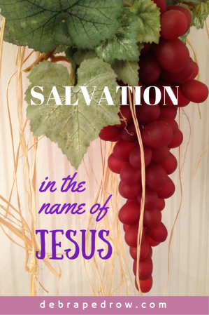 SALVATION in the name Jesus