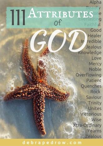 111 Attributes of God