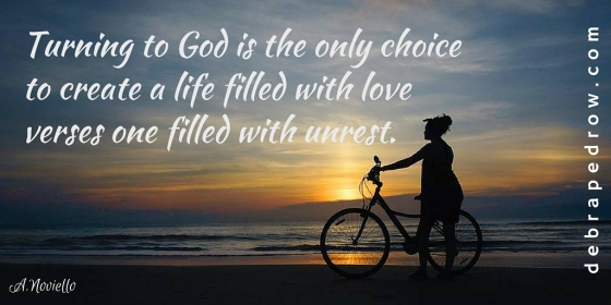 Turning to God is the only choice