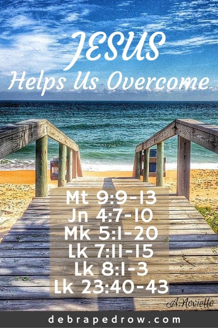 Jesus helps us overcome