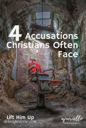 4 accusations Christians often face
