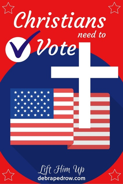 Christians need to vote.
