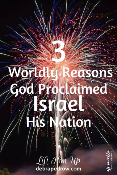 3 worldly means God proclaimed Israel His nation