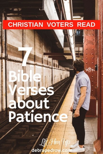 7 Bible verses about patience