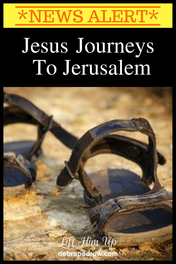 Jesus Journeys to Jerusalem