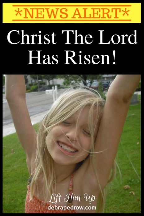 The Lord has risen!