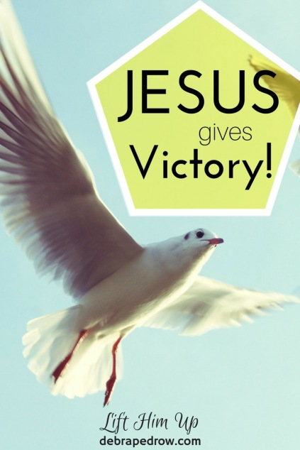 Jesus gives victory!