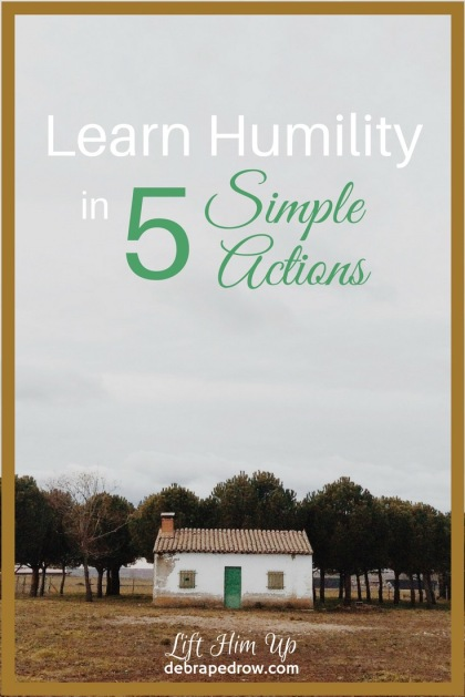 Learn humility in 5 simple actions