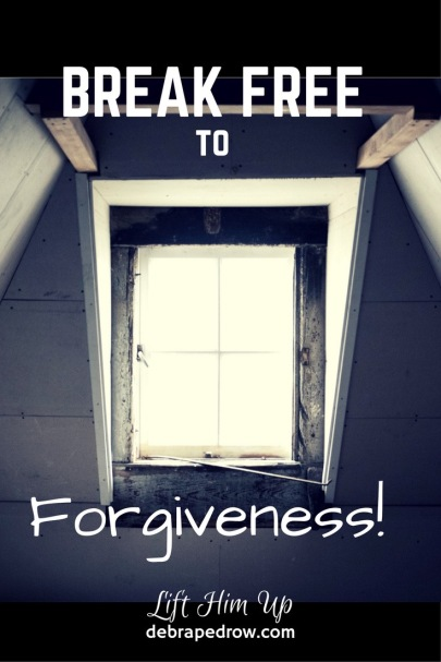 Break free to forgiveness