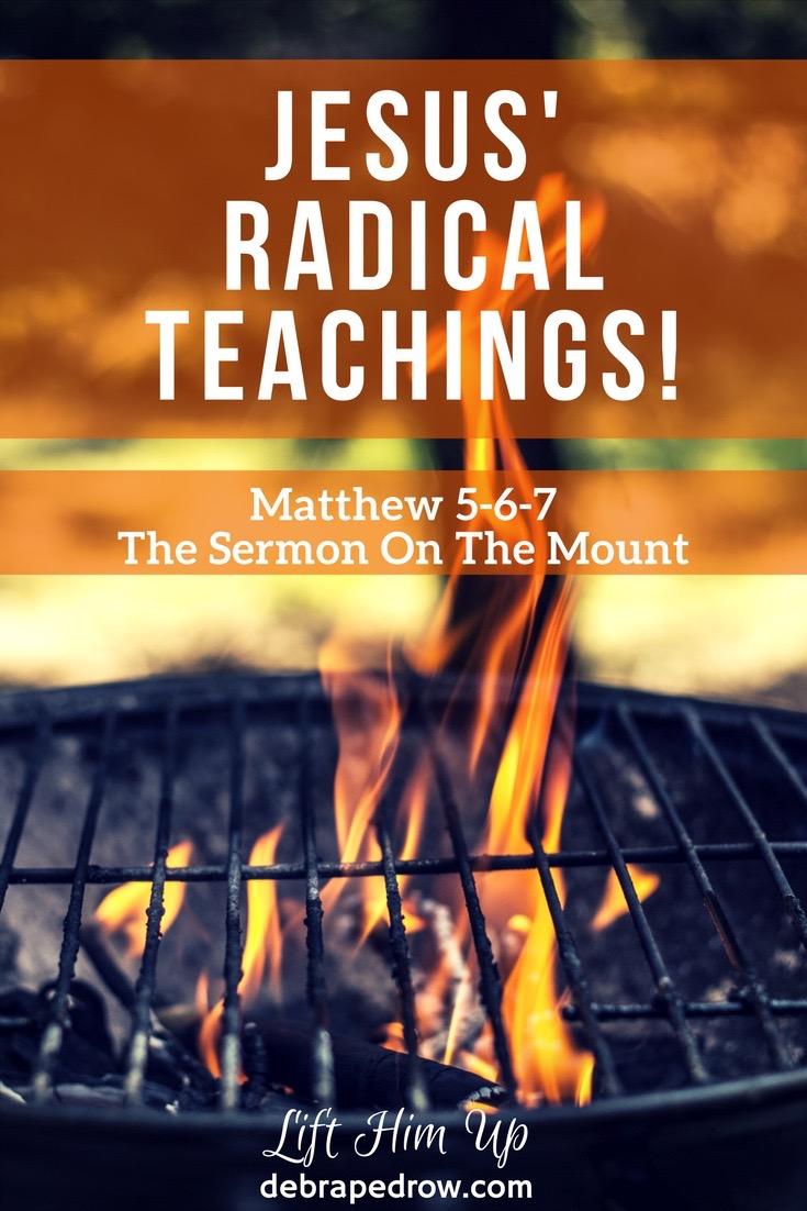 Jesus' radical teachings!