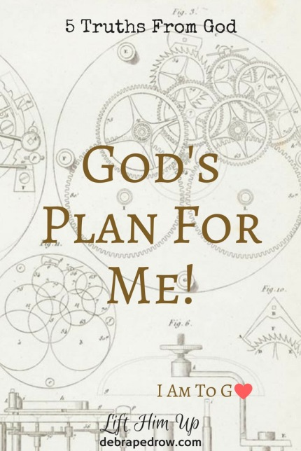 Our God is so good! He thought of you in the beginning. He chose you and predestined you, so of course He will not leave you stumbling through life without a plan. Thank Him for that truth, and thank Holy Spirit for His help as you seek God's plan.