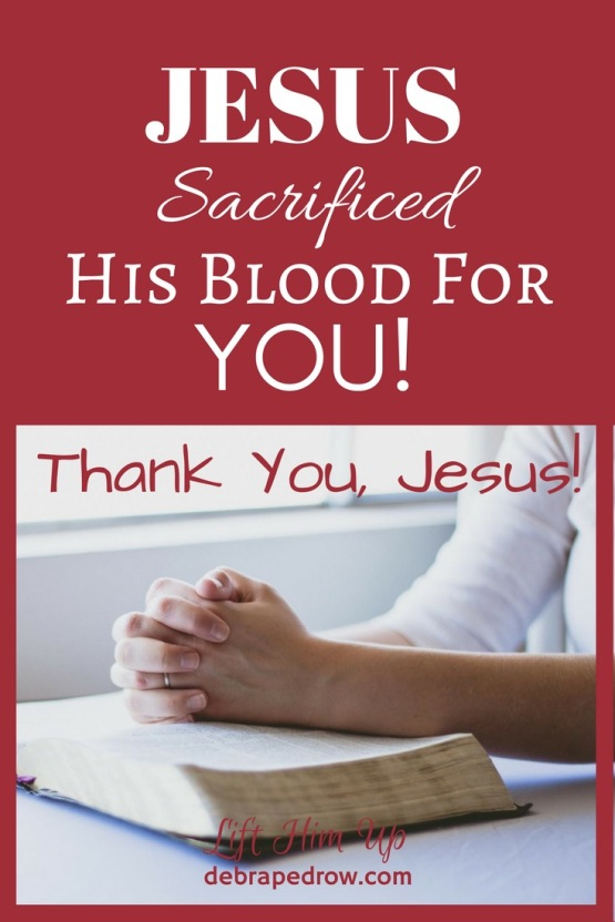Jesus shed His holy blood seven different ways for us at the cross.