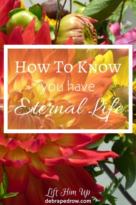How to know you have eternal life