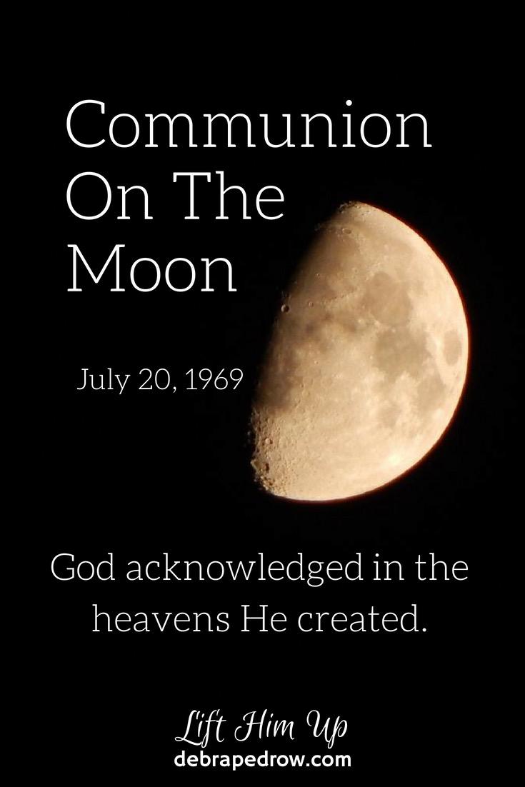 Communion on the moon