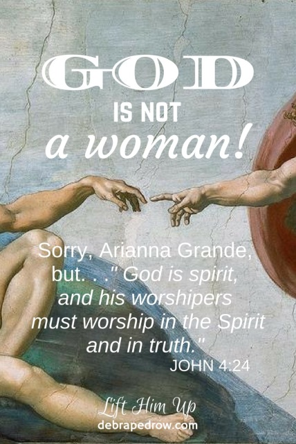 God is not a woman